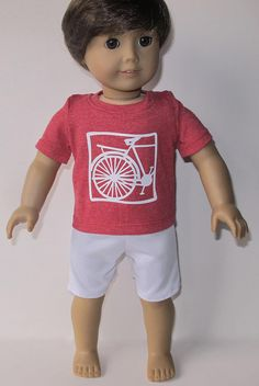 "Biking Outfit For 18"" Dolls"