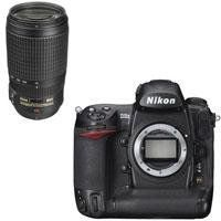 Nikon D3X Digital SLR Camera Body, USA Warranty - Bundle - with Nikon 70-300mm f/4.5-5.6G ED-IF AF-S VR Lens - Nikon USA Warranty by Nikon. $8386.95. The Nikon D3X Digital SLR Camera features extreme resolution 24.5-megapixel FX-format (35.9 x 24.0mm) CMOS sensor. Large 5.94m pixels capture astonishing detail and subtleties with outstanding dynamic range for demanding commercial applications. It has Nikon EXPEED image processing technologies which extends and assures breathtakin...