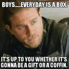 Everyday is a box...