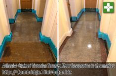 Restoring a Victorian Terrazzo Tiled Hallway, Newmarket - Cambridge Tile Doctor Floor Restoration, Tiled Hallway, Terrazzo Flooring, Victorian, Cleaning, Pop, Home Decor, Popular, Decoration Home