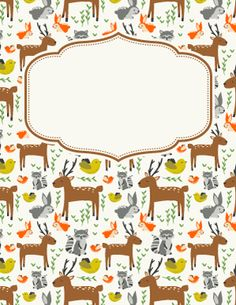 Animal Binder Cover