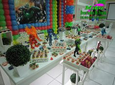 Mika Decorações de Festas: Max Steel 1