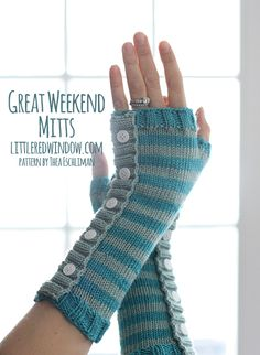 Great Weekend Mitts | littleredwindow.com