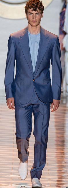 Versace 2015 | Men's Fashion | Menswear | Men's Outfit for Spring/Summer | Moda Masculina | Shop at designerclothingfans.com