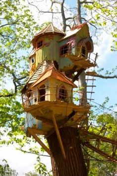 Twiggle Village, Bewilderwood, Norfolk, England