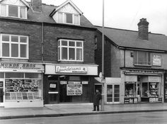 Shops on Bristol road Northfield, used to get sweets at Nix's in 60's70s.