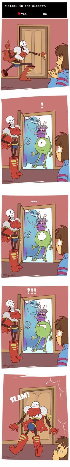 Monsters in the Closet by YAMsgarden.deviantart.com on @DeviantArt