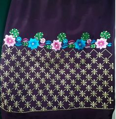 Embroidery Suits Punjabi, Embroidery On Kurtis, Kurti Embroidery Design, Basic Embroidery Stitches, Cutwork Embroidery, Hand Embroidery Designs, Designer Punjabi Suits Patiala, Dress Design Sketches, Boutique Suits