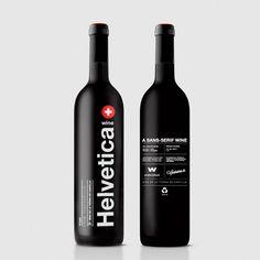 veteasabertu:  Helvetica Wine - wildwildweb