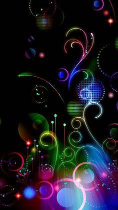 """fond d'écran huawei Image 🎀 ・ ☆ ・ 𝔤𝔢𝔣𝔲𝔫𝔡𝔢𝔫 𝔞𝔲𝔣 ・ ☆ ・ 𝔇 """". Musik Wallpaper, Neon Wallpaper, Heart Wallpaper, Butterfly Wallpaper, Wallpaper Iphone Cute, Cellphone Wallpaper, Colorful Wallpaper, Wallpaper Backgrounds, Mobile Wallpaper"""