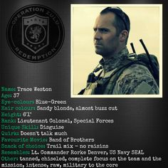 Meet Trace Weston: Team Leader and Hero from Operation Zulu by Ronie Kendig at Sundry & Specifics #RFFTF