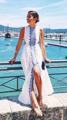 Impressive > Maxi Dress With Slit ;-D