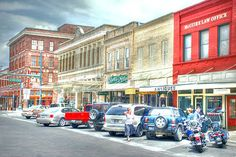 Downtown Waxahachie ~ This town is  charming as can be and the people are so nice here!