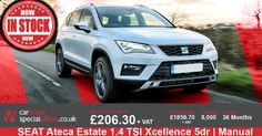SEAT Ateca Estate 1.4 TSI Xcellence 5dr - SUBJECT TO ADMIN FEE Ashley Furniture Chairs, Restoration Hardware Dining Chairs, Car, Automobile, Vehicles, Cars, Autos