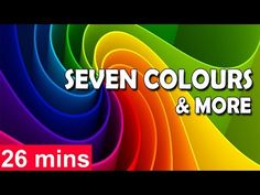 moral stories: Seven Colours in a Rainbow & more 3D Rhymes Collec...
