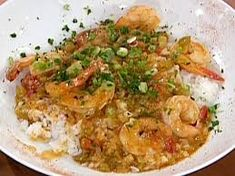 Shrimp Etouffee Recipe : Emeril Lagasse : Food Network My Note: Reduce the amount of salt & only use a little pinch of cayenne & add hot sauce! Very tasty. Creole Recipes, Cajun Recipes, Oven Recipes, Seafood Recipes, Dinner Recipes, Cooking Recipes, Cajun Food, Cajun Cooking, Dinner Ideas