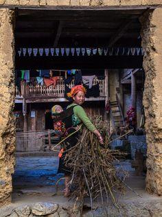 Multitasking mama . Vietnam