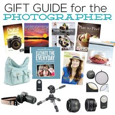 Gift Guide for the Photographer- top 20 must haves! www.thirtyhandmadedays.com