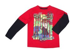 Alien Force Ben 10 Long Sleeve Top Sizes: 3-7   Price: $13.95