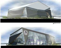 Images Of The New Vikings Stadium