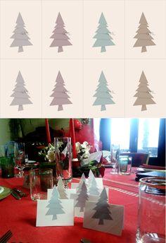 Segnaposti Natale - Christmas Place holders