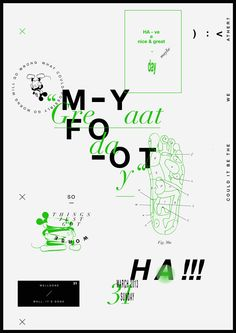 From Darius Ou's Autotypography project, in which he creates a new poster everyday to recount daily life
