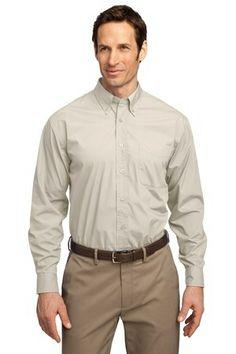 Customizable Port Authority- Long Sleeve Easy Care. Business attire