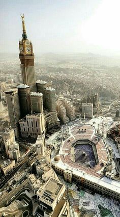Mecca is in the middle of a desert.