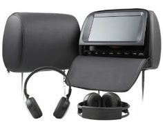 Car C1037 Pillow Pair 9 Inch Hd Digital Screen TFT LCD Headrest Built in DVD Player Support 32 Bits Game Built in Sony Lens and Built in Speaker Support USB Sd Black and 2*free Ir Wireless Headphone and Free 2*game Pads by EONON. $299.00. General  -Built-In SONY LENS  -Built-In Speaker  -Built-In 32 Bits Games  -Built-In IR Transmitter  -Built-In FM Transmitter  -FM Transmit Point: 87.5/87.7/87.9/88.1/88.3/88.5/88.7MHz  -Adjustable Poles: 130mm-190mm (Inner Wi...