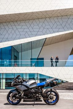 Mark Meisner did a beautiful photo shoot at EYE Amsterdam of Yellowrider's latest creation, the Yamaha GTS THE NEXT. Maarten Poodt a.k.a. Ye...