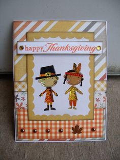 happy Thanksgiving - Scrapbook.com