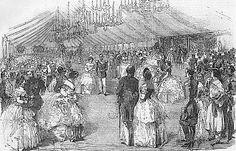 1856 Ball Given by the Countess Granville, at Moscow print EB