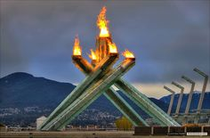 Olympic Torch, Vancouver BC