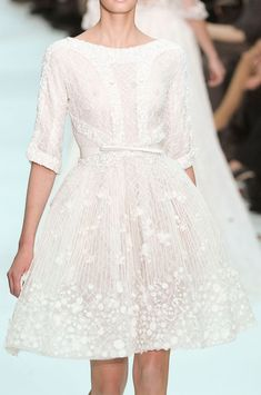 Sweet cupcake cut from Elie Saab Couture Spring 2012