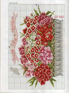 Архив альбомов Cross Stitch Designs, Cross Stitch Charts, Cross Stitch Patterns, Ribbon Embroidery, Cross Stitch Embroidery, Hand Embroidery Patterns Free, Cross Stitch Flowers, Cross Stitching, Needlepoint