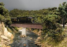 Atlas Model Railroad Co. - N scale bridges