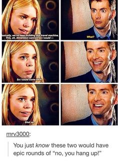 I just LOVE how deliriously happy they are in this scene