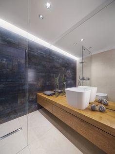 View the full picture gallery of RS Apartment - STUDIO 1408 City Apartment, Apartment Interior, Bathroom Interior, Bad Inspiration, Bathroom Inspiration, Exterior Design, Interior And Exterior, Modern Bathroom Design, Home Studio