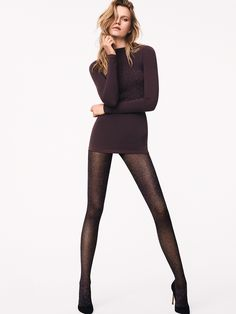 Love yourself in luxury hosiery with the LW Lurex Net Tights from Wolford. A glamorous net fashion tight featuring sparkling silver Lurex yarn and a comfortable and soft knitted waistband. Tights And Heels, Sexy Legs And Heels, Tights Outfit, Black Tights, Fashion Tights, Net Fashion, Womens Fashion, Cute Skirts, Mini Skirts