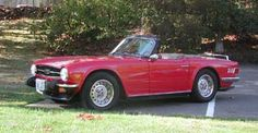 Triumph TR-6, 1976