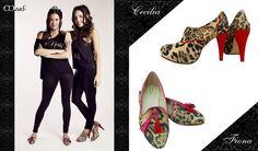 Zapatos MARF : Modelo Cecilia y Fiona