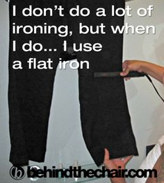 I do this all the time. its great for collars and hems. My Husband even does it :)