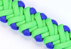 "Visit http://www.BoredParacord.com for a huge selection of paracord, buckles, tools, how-to videos and more! The original ""Double V"" design was created by Ro..."
