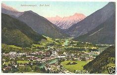 Bad Ischl Vintage Postcard