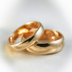 wedding rings gold - hermosos anillos de boda de oro ♛