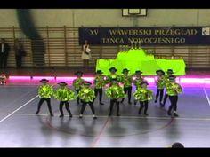 Przedszkole NUTKA - II miejsce w Wawerskim Przeglądzie Tańca Nowoczesnego