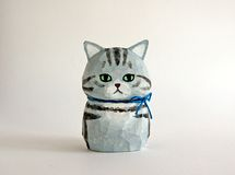 Ceramic Animals, Wooden Art, Cool Items, Craft Work, Handmade Toys, Puppet, I Love Cats, Cat Art, Wood Carving