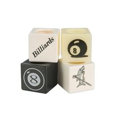 Plastic Billiard Chalk Holders With 15 Designs To Choose From
