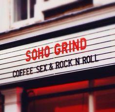 Soho Grind~ a fav ☕️ Beak St Soho