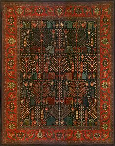Persian Bidjar Width 125 inches Length 158 inches I Emmett Eiland